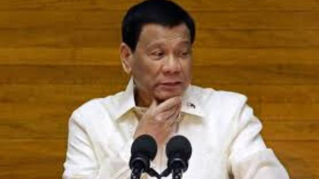 PHILIPPINE PRESIDENT WILLING TO KILL AND BURY DISOBEDIENT CITIZENS