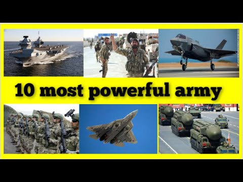 TOP 10 BEST ARMY IN THE WORLD