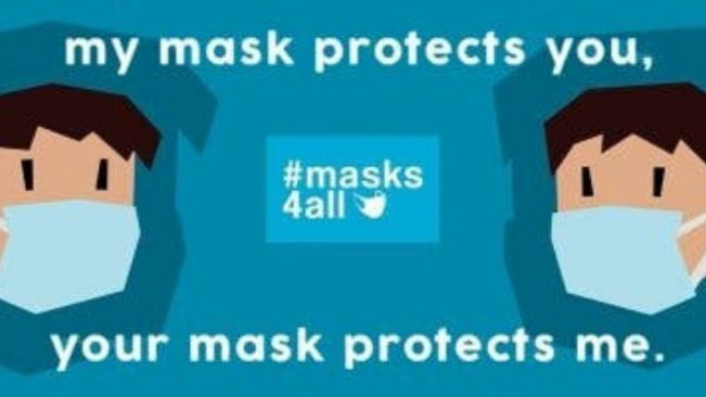 Wear your masks