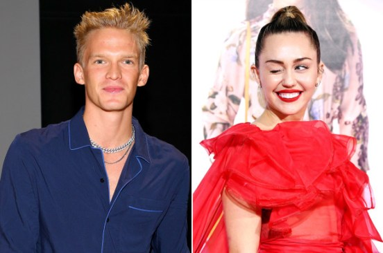 Cody Simpson celebrates 6 months with Miley Cyrus
