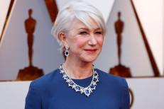 Helen Mirren posts no-makeup photo: 'In return, please donate'