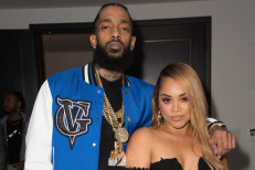 Lauren London honors Nipsey Hussle one year after rapper's death