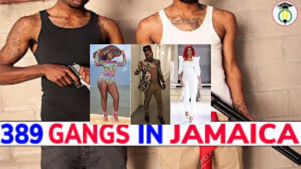 There are 389 Gangs operating in Jamaica