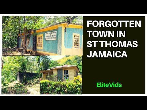 ABANDONED TOWN FOUND IN ST THOMAS