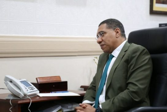 PM Holness holds Teleconference with UN Secretary-General and PM of Canada