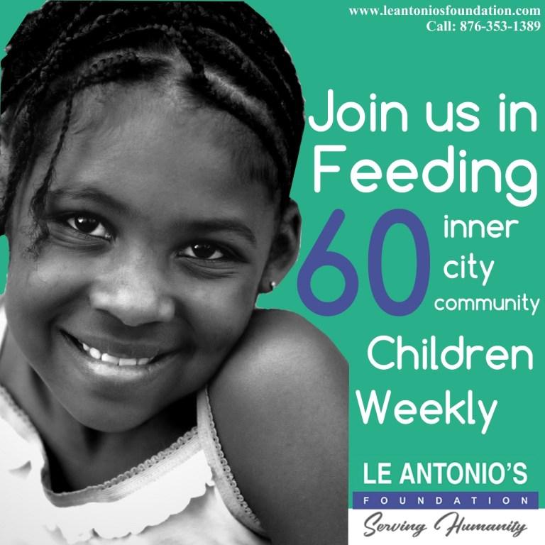 Le Antonio's Foundation Feeding Programme