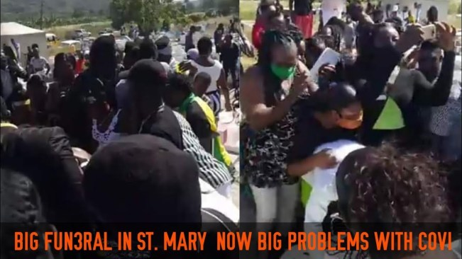 Funeral big Problem in St. Mary