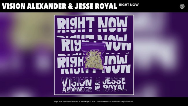 Vision Alexander Teams Up With Jesse Royal On New Single 'Right Now'