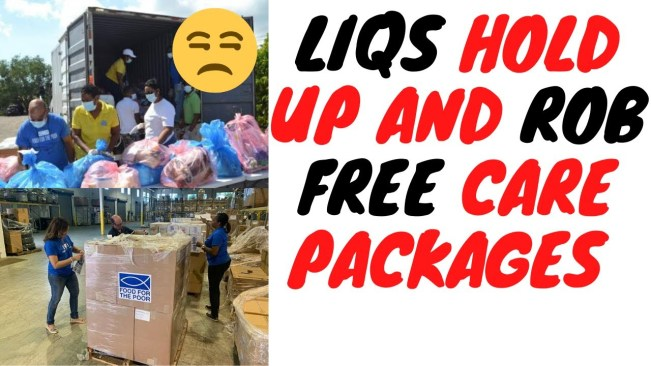 Workers Handing Out FREE Care Packages Get Robbed In Broad Daylight By Criminals