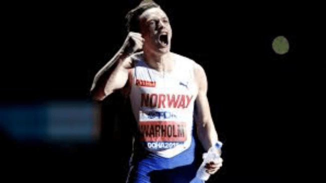 Karsten Warholm Smashes 300m Hurdles World Record at Impossible Games