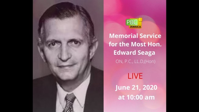 Memorial Service for Most. Hon Edward Seaga – June 21, 2020