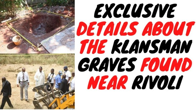 The Site Near Rivoli Was A Klansman Court House