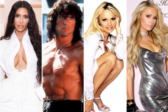 Celebrities who starred in porn, from Sylvester Stallone to Kim Kardashian