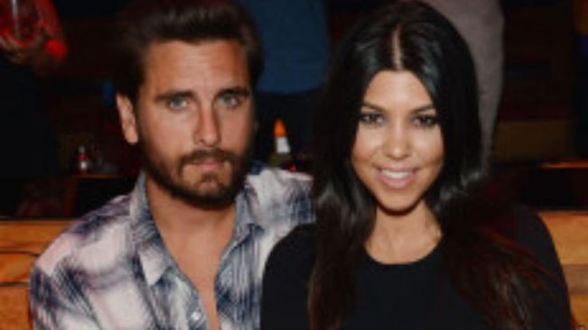 Scott Disick compliments Kourtney Kardashian's flannel after she wore his shirt