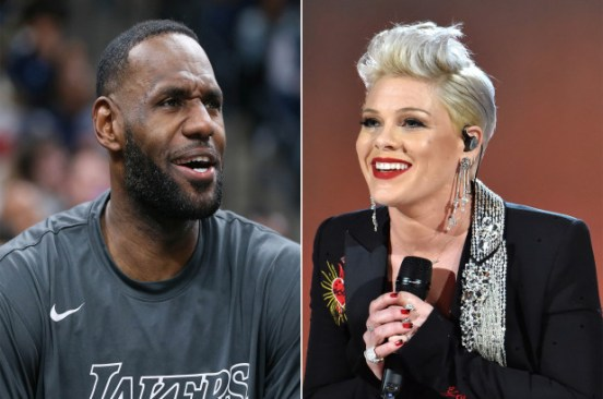 LeBron James, Pink slam 'clout chasers' using protests for publicity