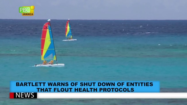 Bartlett Warns Of Shut Down Of Entities That Flout Health Protocols