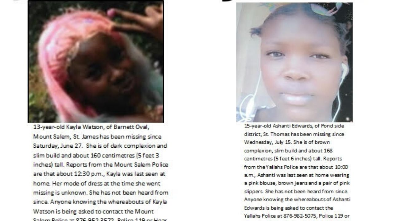 Have you seen these children