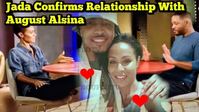 Jada Pinkett Smith Confirms August Alsina relationship at Red Table