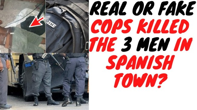 Spanish Town Triple Murder Shows Why Jamaicans Can't Trust No Uniform After Dark!