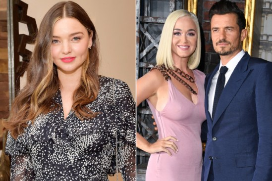Miranda Kerr congratulates ex Orlando Bloom on baby with Katy Perry