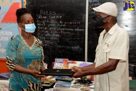 PHOTOS: Kitson Town Primary School Donations