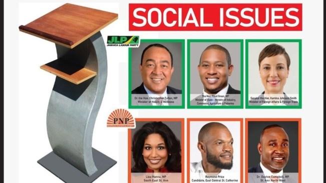 LIVE NOW:Jamaica Debates Commission   General Election Debates – August 25, 2020