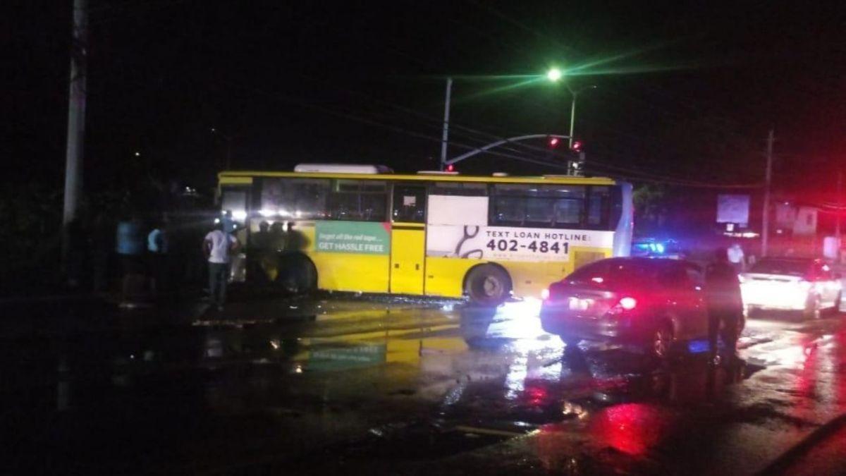 Seven Vehicle Collision At Westgreen