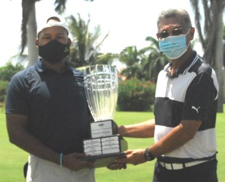 William Knibbs – winner of JGA Emancipendence Golf Classic