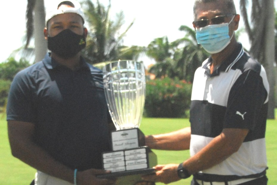 William Knibbs – winner of JGA Emancipendence Golf Classic