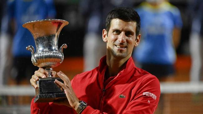 Djokovic wins record 36th Master title in Italy