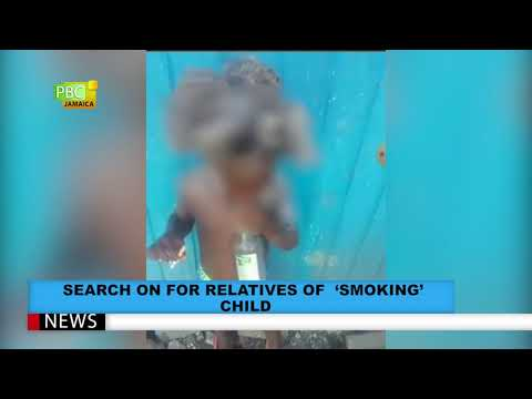 Search On For Relatives Of 'Smoking' Child