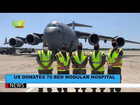 US Donates 70 Bed Modular Hospital