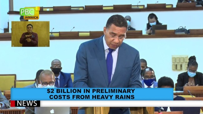 $2 Billion In Preliminary Costs From Heavy Rains