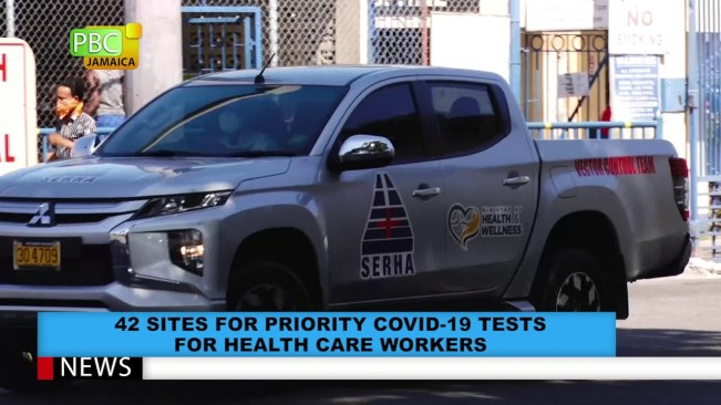 42 Sites For Priority COVID-19 Tests For Health Care Workers
