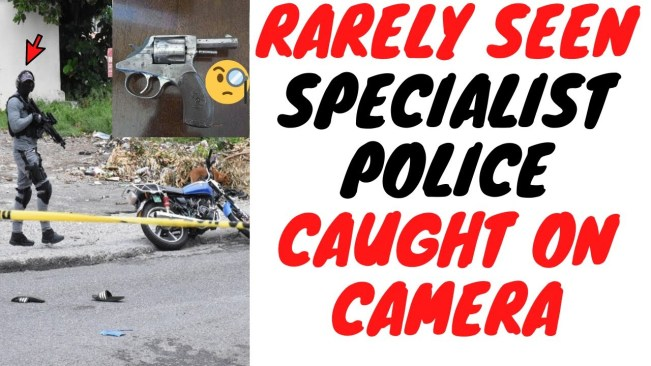 After Catching A Criminal And Taking His Gun These Mysterious Officers Were Spotted