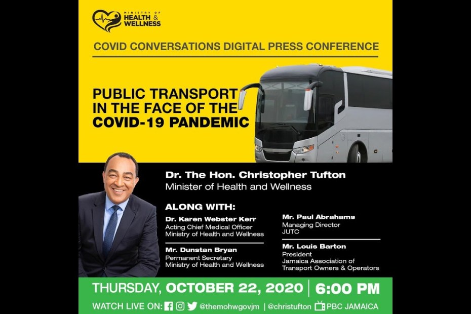 "LIVE NOW: Digital COVID-19 Conversation""COVID-19 & the Transportation Sector"" 