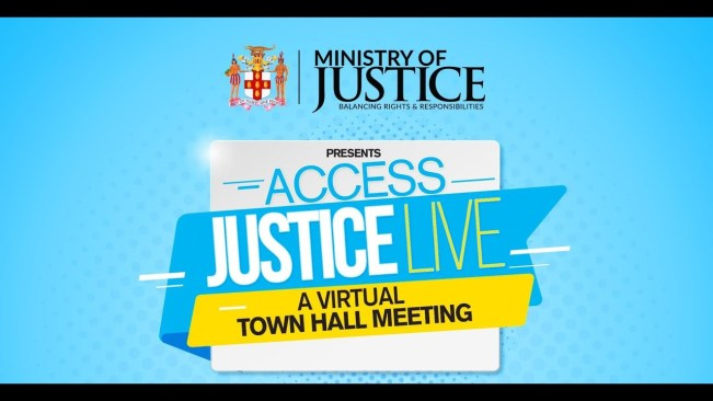 Ministry of Justice   Access Justice Live – Virtual Town Hall Meeting   #RestorativeJustice