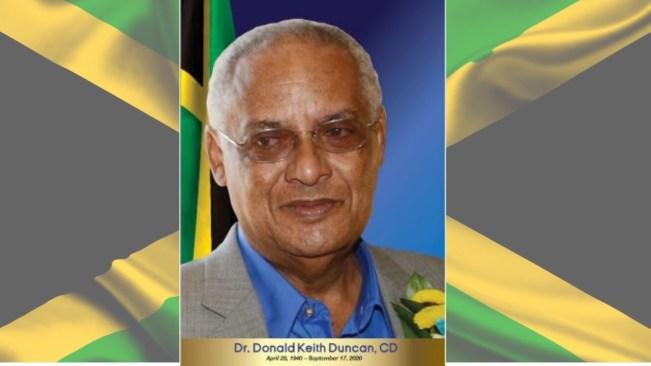 Official Funeral Service for Dr. DK Duncan, October 25