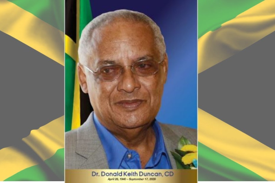Official Funeral Service for Dr. DK Duncan, October 25
