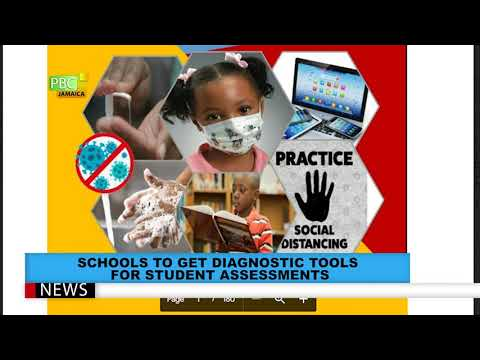 SCHOOLS TO GET DIAGNOSTIC TOOLS FOR STUDENT ASSESSMENTS