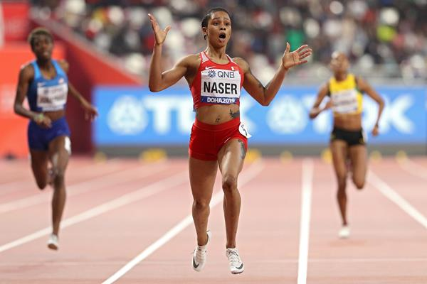 Anti-doping charges against world 400m champion Naser dismissed