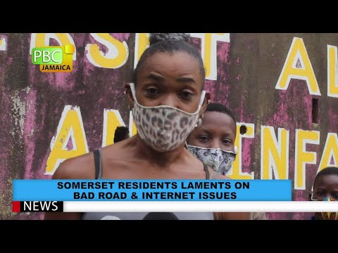 Somerset Residents Lament On Bad Road & Internet Issues
