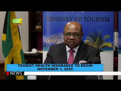 Tourist health insurance to begin November 1, 2020