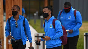West Indies arrive in New Zealand for tour