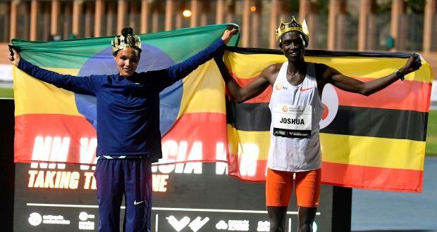 Cheptegei and Gidey demolish world records in Valencia