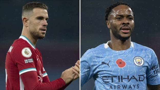 England v Iceland: Jordan Henderson and Raheem Sterling out of Nations League match