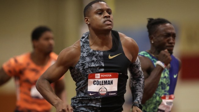 World champion Christian Coleman appeals two-year ban