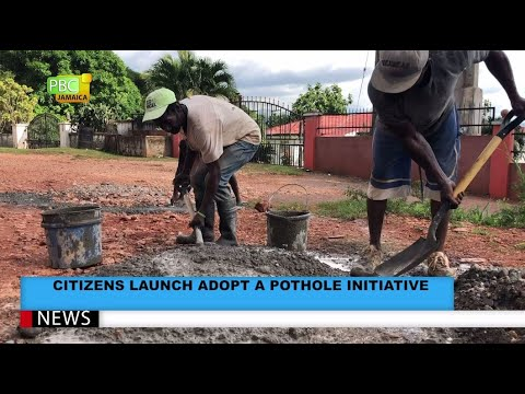 Citizens Launch Adopt A Pothole Initiative