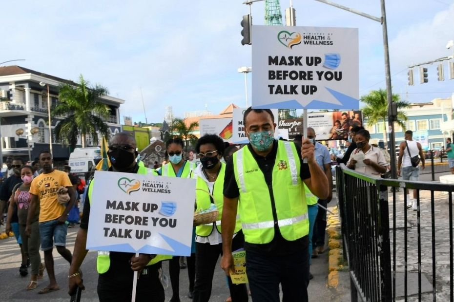 Mask campaign pushed on MoBay streets