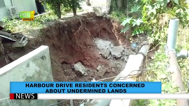 Harbour Drive Residents Concerned About Undermined Lands